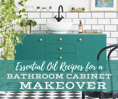 Essential Oil Recipes For A Bathroom Cabinet Makeover Class | Compliant Social Media Downloadable Workshop