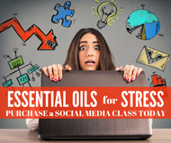 Essential Oils For Stress Class | Compliant Social Media Downloadable Workshop