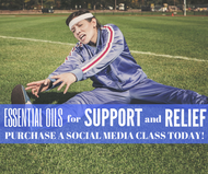 Essential Oils For Support and Relief Class | Compliant Social Media Downloadable Workshop