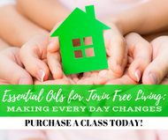 Essential Oils For Toxin Free Living Class | Compliant Social Media Downloadable Workshop