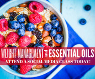 Weight Management And Essential Oils Class | Compliant Social Media Downloadable Workshop