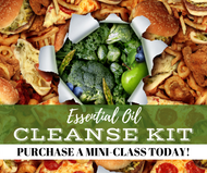 Essential Oil Cleanse Kit Mini-Class | Compliant Social Media Downloadable Workshop