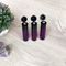 Black Roller Bottle Flip Lids For 10ml Essential Oil Vials | Stainless Steel Metal Rollerball