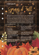 Sprays of Fall Recipe Sheet With 12 Room Spray Recipes For Thanksgiving