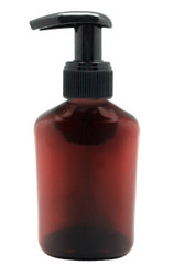 150ml Amber Plastic Lotion Pump For Homemade Natural DIY Soaps, Hand Sanitizers, and Disinfectants