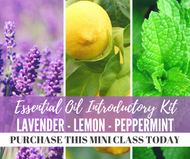 Essential Oil Intro Kit Class | Compliant Social Media Downloadable Workshop