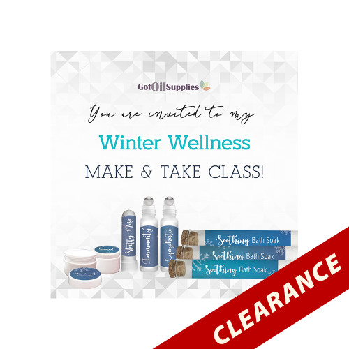 FREE Winter Wellness Social Media eInvite For A Make And Take Class
