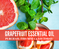 Grapefruit Essential Oil Mini-Class | Compliant Social Media Downloadable Workshop