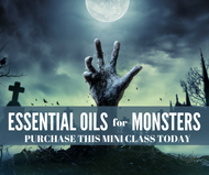 Essential Oils For Monsters Mini-Class | Compliant Social Media Downloadable Workshop