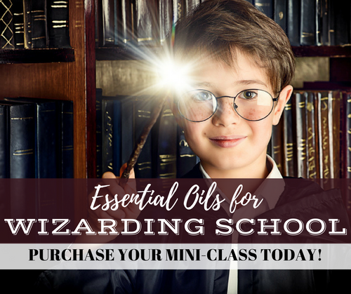 Essential Oils For Wizarding School Mini-Class | Compliant Social Media Downloadable Workshop