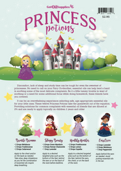 Princess Potions Recipe Sheets | Essential Oil Recipes For Kids