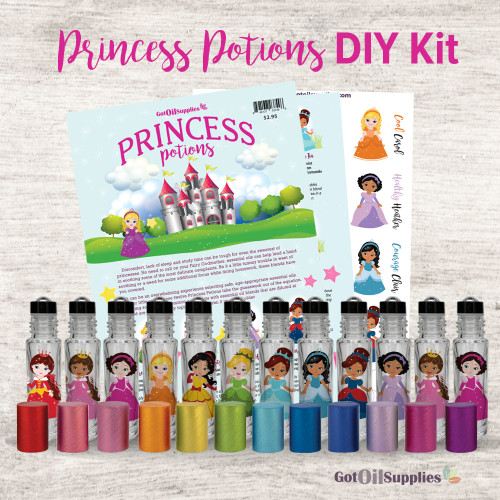 Princess Potions DIY Kit | All The Essential Oil Supplies You Need