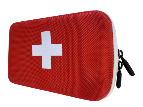 First Aid Essential Oil Hard Case   Holds 12 Roll On Containers