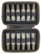 First Aid Essential Oil Hard Case   Holds 12 Roll On Bottles