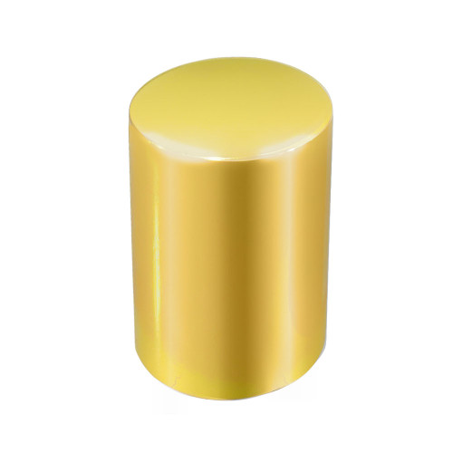 Shiny Gold Roller Bottle Lids for 10ml and 1/6 oz Roller Bottles