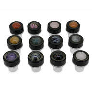 12 Deluxe Gemstone Rollers For 10ml Essential Oil Roll On Vials