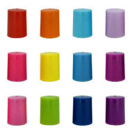 Assorted Colored Roller Bottle Lids | Designed For 10ml Essential Oil Roll On Containers