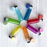 Chakra Colored 10ml Roller Bottles | Essential Oil 10 ml Roll On Vials
