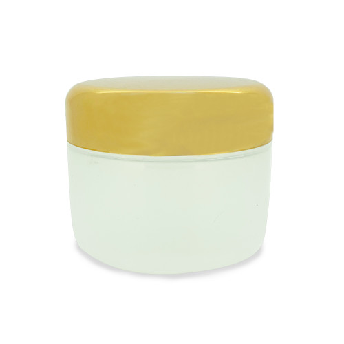 50 ml Plastic Cream Jar Salve Containers With Gold Lids For Essential Oils