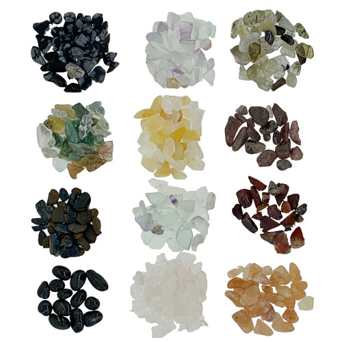Small Gemstone Chips | For Any Essential Oil Blend and Bottles