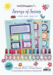 Sprays of Spring Make & Take Kit | Essential Oil Room Spray Workshop Class