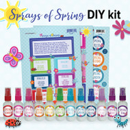 Sprays of Spring DIY Kit | Essential Oil Do It Yourself Room Spray Set