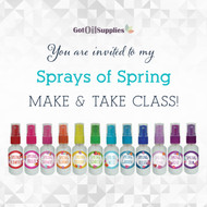 FREE Sprays of Spring eInvite For Social Media and Email Campaigns