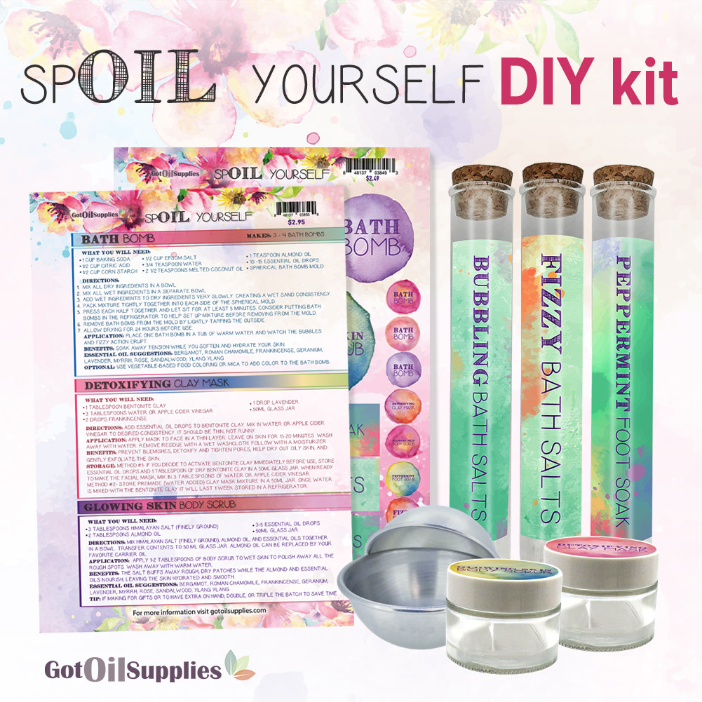 10 Essentials For The Ultimate At Home Spa Kit: Essential Oil Supplies For The