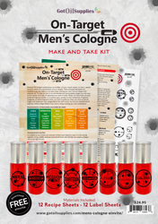 On Target Men's Cologne Make & Take Kit | Essential Oil Fragrance For Men
