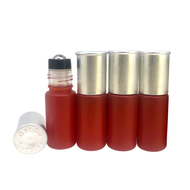 Shotgun Shell Bullet Shaped 5ml Essential Oil Roller Bottles