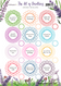 Aroma Inhaler Labels | The Art of Breathing | Essential Oil Aromatherapy Label Sheet