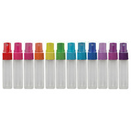 Color Spray Tops for 10ml Essential Oil Roll On Vials | Bottles Not Included