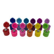 Color Flip Lids for 10ml Essential Oil Roll On Vials