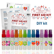 Essential Oil First Aid DIY Kit