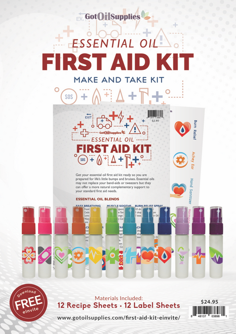 Essential Oil First Aid Make And Take Kit