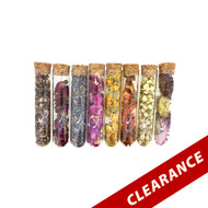 Dried Flowers | 8 Tubes With Assorted Flowers To Use With Essential Oils