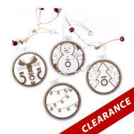 dōTERRA® Wood Diffuser Christmas Tree Ornaments