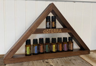 Brown Triangle dōTERRA® Essential Oil Shelf