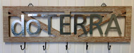 dōTERRA® Wood Sign with Hooks