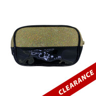 Gold Glitter Essential Oil Bag