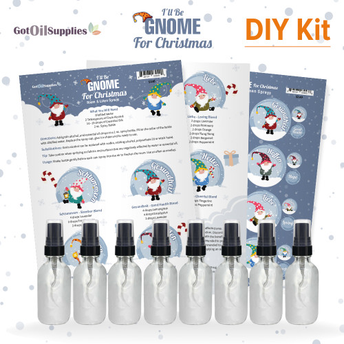 I'll Be Gnome For Christmas DIY Kit | Holiday Room and Linen Sprays