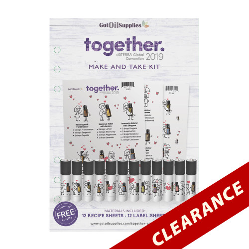 dōTERRA® Together Convention 2019 Essential Oil Make and Take Kit