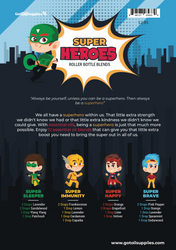 Super Heroes Roller Bottle Blend Recipes For Boys