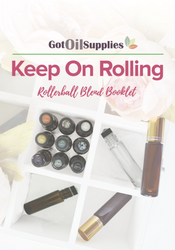 Rollerball Blend Booklet | Keep On Rolling | Essential Oil Roller Bottle Blends