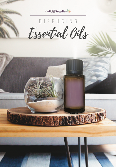 Diffusing Essential Oils Booklet | Essential Oil Diffuser Recipe Book