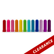 Individual Colored Plastic Nasal Aroma Inhalers For Essential Oil Aromatherapy