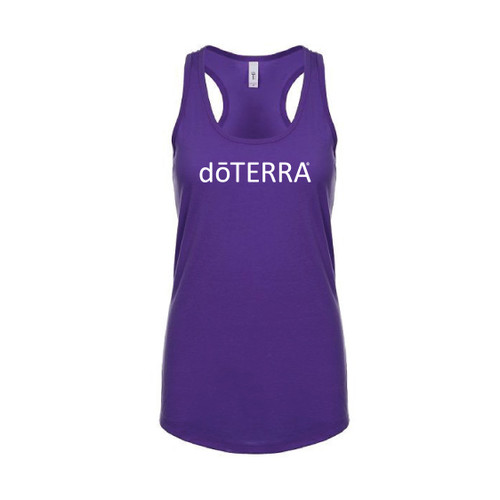 dōTERRA® Purple Athletic Tank Top For Yoga and Exercise