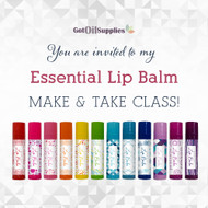 Essential Lip Balm eInvite | Digital Download