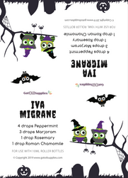 Owlloween Recipe Tent Cards | Digital Download