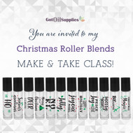 Christmas Essential Oil Roller Bottle Blends eInvite | Digital Download